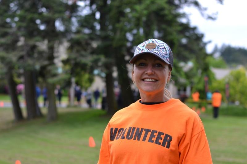 Emily Krieger, volunteer.